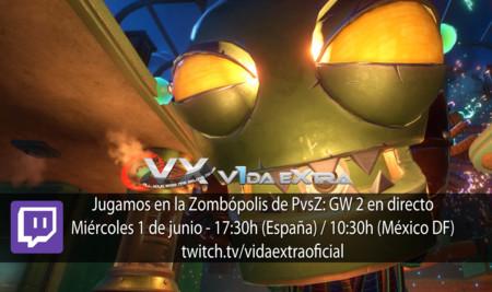 Jugamos en la Zombópolis de Plants vs. Zombies: Garden Warfare 2 a las 17:30h (finalizado)