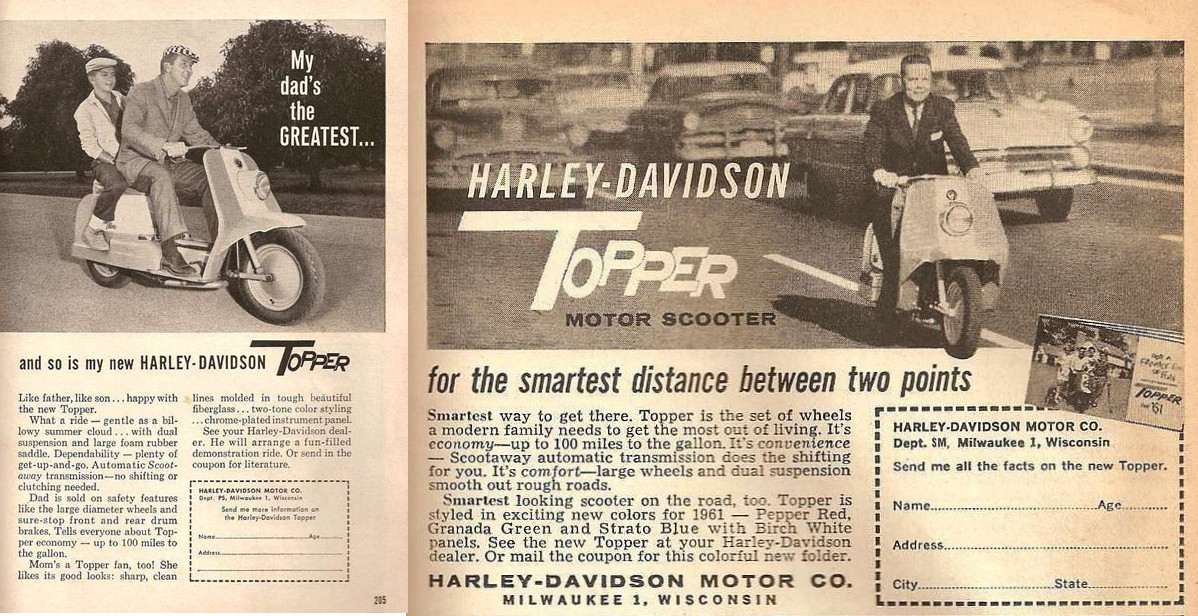 Foto de Harley-Davidson Topper scooter (9/13)