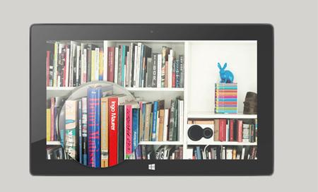 Microsoft Surface RT pantalla