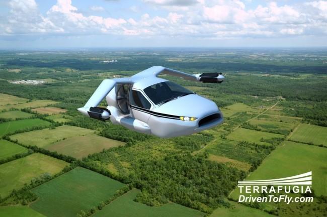 TF-X coche volador