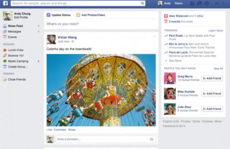 facebook nueva portada