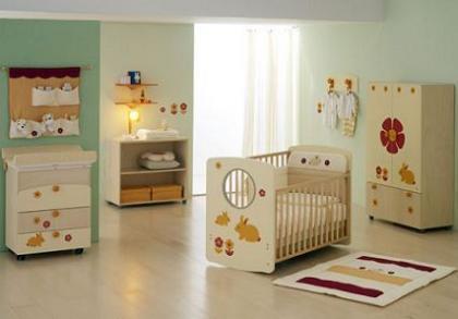Pegatinas para adornar el mobiliario infantil