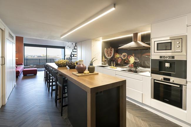 1 Lord Loft Interiorismo Tiovivo Proyecto Residencial Cocina 3