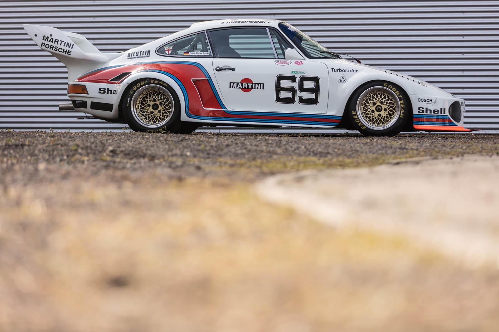 Foto de Porsche 930 clásico a subasta (30/42)