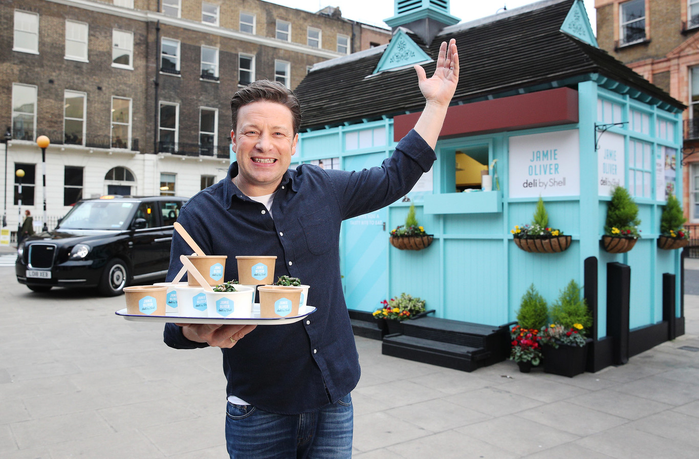 Jamie Oliver anuncia la quiebra de su cadena de restaurantes