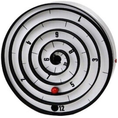 Curioso reloj en espiral