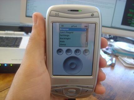 iPod en un Pocket PC