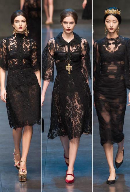 Dolce & Gabbana góticos