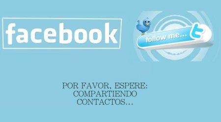 Twitter preguntó: ¿Facebook, me dejas ver los usuarios que tenemos en común?