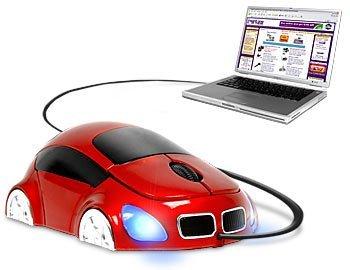 Street Mouse, ratón con forma de coche