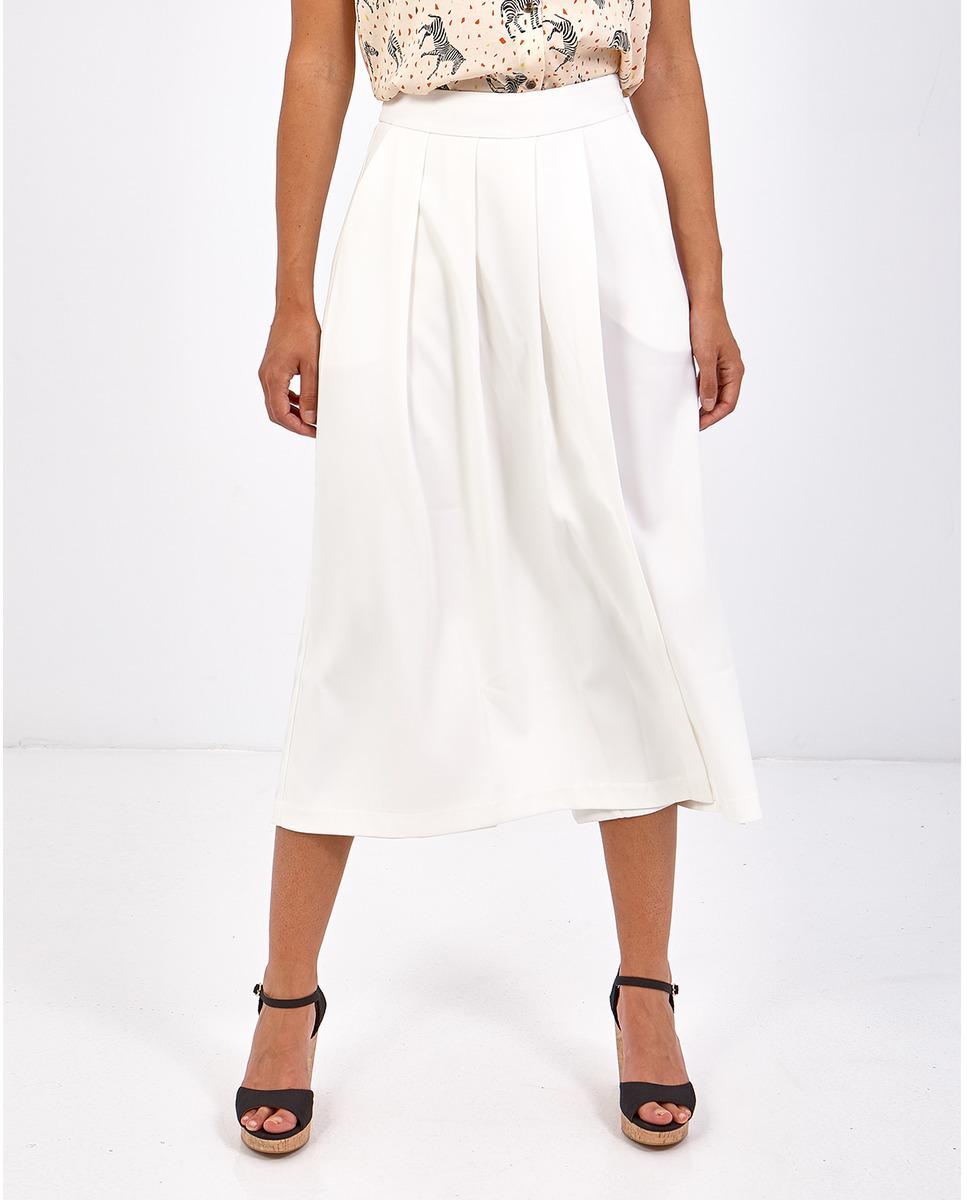 Pantalón capri de mujer Smash con vuelo y efecto falda