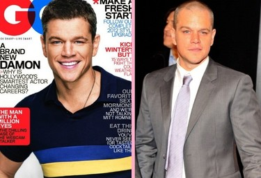 Matt Damon ¿rapado o con pelo?....nos gusta de todas la maneras