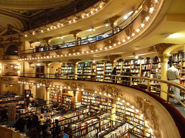 Si existiera un templo para los libros, sería este: el Ateneo Grand Splendid, en Buenos Aires