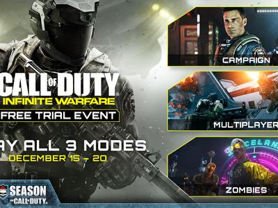 Call of Duty: Infinite Warfare gratis por tiempo limitado en PS4 y Xbox One, prepárate para descargar 60 GB