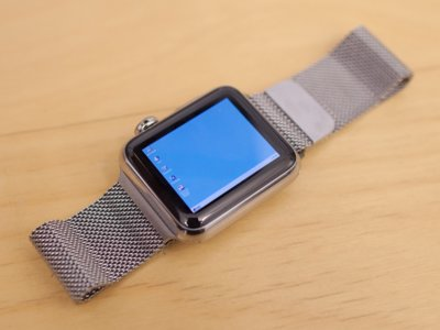 Alguien metió a Windows 95 dentro de un Apple Watch