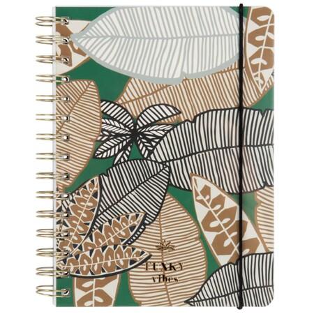 Cuaderno De Notas Verde Con Motivo De Hojas 1000 3 12 208661 1