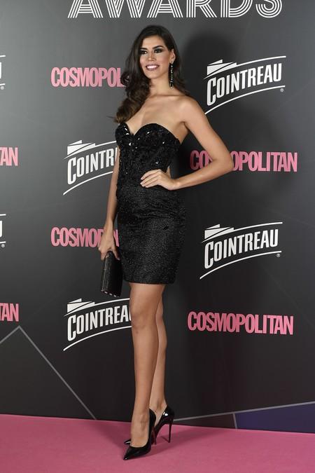 premios cosmopolitan 2017 alfombra roja look estilismo outfit Sofía del Prado