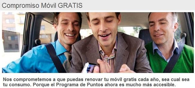 Nuevo programa de puntos + permanencia en tarifa de Vodafone