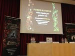 Encuentro con Patrick Rothfuss, autor de 'El nombre del viento', en su primera visita España