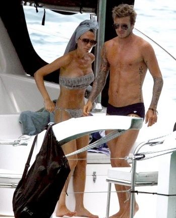 ¡Pillamos a los Beckham celebrando su aniversario!