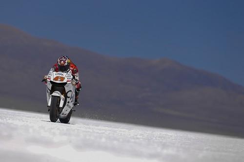 """Dorna y Honda """"nos venden la moto"""" con las imágenes del Salar de Jujuy"""
