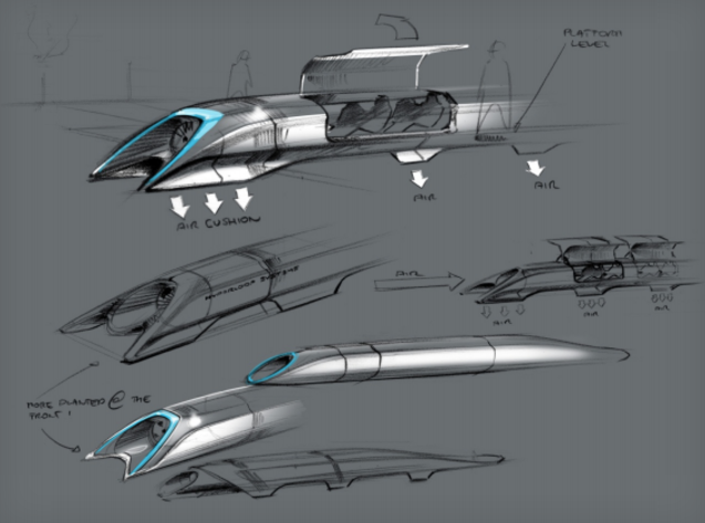 Hyperloop, el medio de transporte del futuro ideado por Elon Musk
