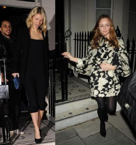 Gwyneth Paltrow y Stella McCartney, la bella ¿y la bestia?