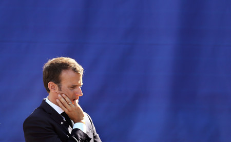 ¿La mayor crisis en la presidencia de Macron? Su guardaespaldas apaleando manifestantes