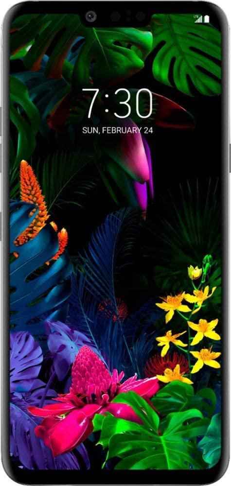 LG G8 ThinQ Plata 6.1 pulgadas 128GB Desbloqueado (Renewed)