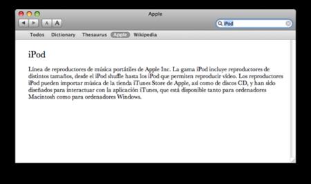 Añade un nuevo diccionario a tu Mac