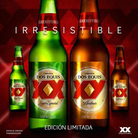 La cerveza Dos Equis cambia su logo para ser más inclusiva