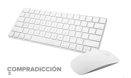 Más barato todavía: llévate el Magic Mouse y el Magic Keyboard de Apple por 70 euros menos comprándolos juntos en eBay
