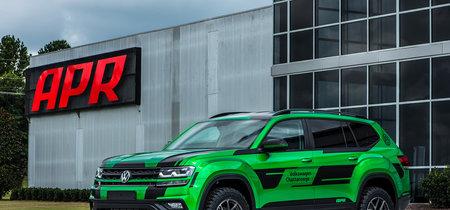 Volkswagen Atlas recibe una dosis extra de picante, cortesía de APR