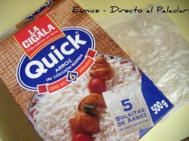"""La Cigala """"Quick"""". Arroz de cocción rápida para los que tenemos poco tiempo"""