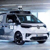 Volkswagen ID. Buzz AD, la esperada Combi eléctrica tendrá una variante 100% autónoma en el 2023