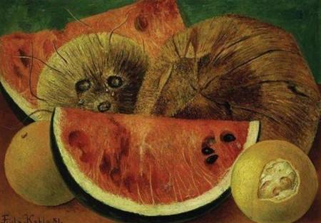 Pinturas Frida Kahlo Inspiradas Comida Frases Mas Inspiradoras Los Cocos