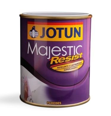 Bote de Jotun Majestic Resist, repelente a las manchas