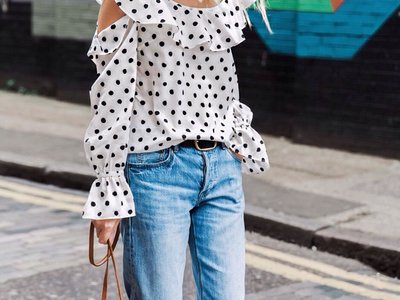12 maneras distintas de lucir una prenda a topos