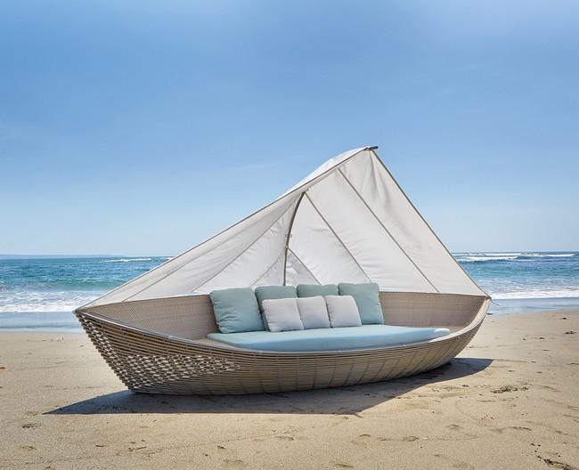 Sofa De Rattan Para Terraza Y Jardin Coleccion Boat