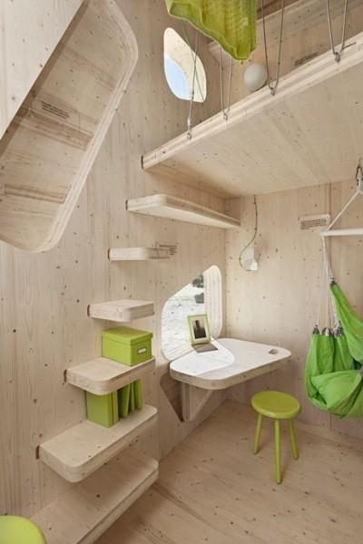 Casas poco convencionales peque as viviendas de madera - Casa pequena de madera ...
