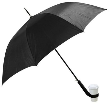 Coffee Loving Umbrella, paraguas para llevar el café
