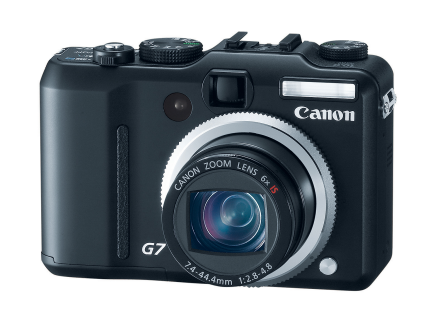 PowerShot G7, con 10 megapíxeles