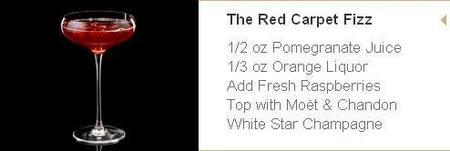 coctel  The Red Carpet Fizz
