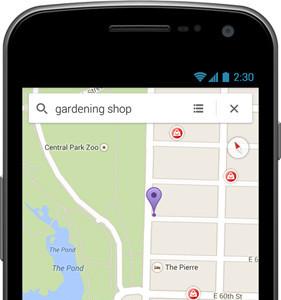 Llegan los anuncios a las versiones móviles de Google Maps