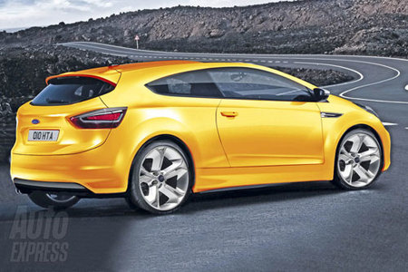 Ford Capri render