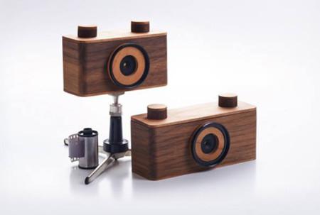 NOPO, las cámaras más originales están hechas de madera