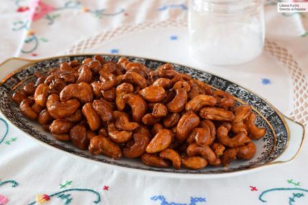 Anacardos picantes con miel al horno: receta fácil de picoteo para el aperitivo