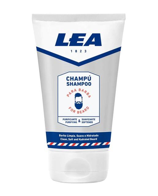 Champú Purificante y Suavizante para barba Lea