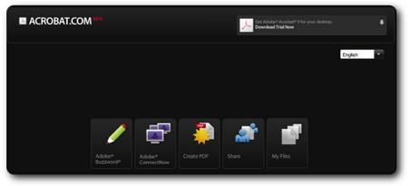 Acrobat.com, colaboración y ofimática online de Adobe