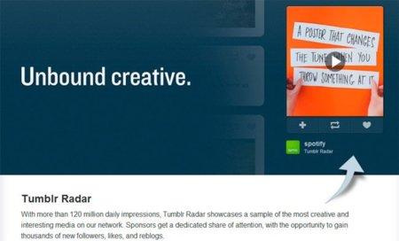 ¿Quieres anunciarte en Tumblr? Pues prepara 25.000 dólares...